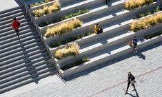 Waller Park by MSLA « Landscape Architecture Platform Architecture Durable, Stairs Architecture, Sustainable Architecture, Landscape Architecture, Residential Architecture, Contemporary Architecture, Landscape Stairs, Urban Landscape, Landscape Design