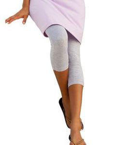 Hanes Stretch Cotton Capri Leggings