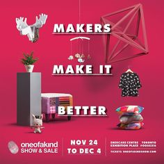 I've never wanted something so badly for so long. After five years of applying I can't believe it's finally here - I'll be exhibiting for the last 6 days at the @ooak_toronto ! Dreams do come true ya'll.  Want a pair of free tickets to come visit me at the show? Just like this post and tag the friend you'll bring with you to the show to be entered into a draw for 4 pairs of tickets. Winners will be notified tomorrow and emailed their tickets!  #myheadmistress #ooakx16 #ticketdraw