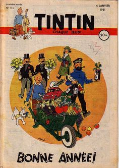 Tintin -Bonne année ! (Happy New Year)