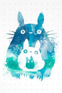 PenelopeLovePrints Totoro and Mini Totoros Poster prints - 3