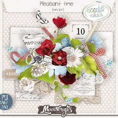 mini kit Pleasant Time by Moosscrap's Designs http://digital-crea.fr/shop/index.php?main_page=index&manufacturers_id=182