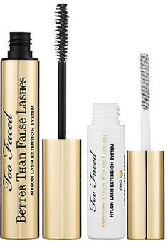 ShopStyle: Too Faced Better Than False Lashes Nylon Lash Extension System  @Sarah Long Faced Cosmetics