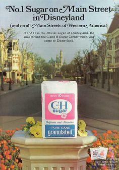C&H Sugar Disneyland Ad 1961