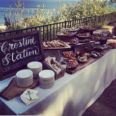 Crostini Bar!                                                                                                                                                     More