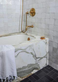 Nob Hill Classic | Studio Gray - Boutique Interior Design Boutique Interior Design, Interior Design Studio, Giant Mirror, Small Shelves, Small Bathroom, Bathroom Ideas, Marble Bathrooms, Bathroom Inspo, Master Bathroom