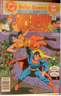 The Superman Family #186 DC Comics; no slice Double-sized 1977 BRONZE AGE COMIC free bag & board