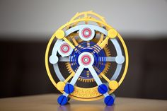 3ders.org - Unique functional Tourbillon model 3D printed at 1000% scale | 3D Printer News & 3D Printing News