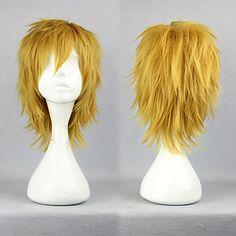 Cosplay Synthetic Wig Vocaloid Series Kokoro Len