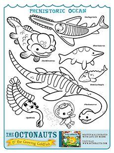 lots of octonauts printables -- make a coloring book?   Octonauts ...