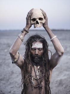 natural beauty: shaman & skull