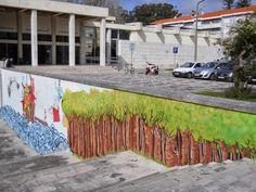 O Palhetas na Foz: Murais pintados na Figueira da Foz