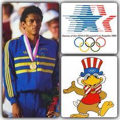 """Hoje um atleta que marcou muito minha vida no esporte faz aniversário. Joaquim Cruz nas olimpíadas de Los Angeles 1984 carimbou a medalha de ouro nos 800m. Hoje ele faz 53 anos, parabéns. Muita gente pensa que comecei a correr por esses dias por moda ou para ter uma vida """"saudável"""" rsss...pratico esporte desde de sempre e a corrida o atletismo desde esse evento. Essa olimpíada ficou marcada na vida. O vôlei do brasil, a chegada da atleta suíça, Gabrielle Andersen, na primeira maratona…"""