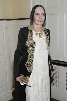 Designer Mary Mcfadden