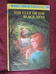 The Clue of the Black Keys by Carolyn Keene - Nancy Drew # 28 - 1996 ~~ For Sale At Wenzel Thrifty Nickel eCRATER store