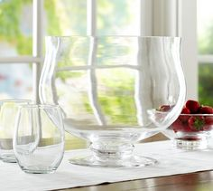 PB Classic Glass Punch Bowl | Pottery Barn http://www.potterybarn.com/products/pb-classic-glass-punch-bowl/?pkey=call-serveware&cm_src=all-serveware||NoFacet-_-NoFacet-_--_-