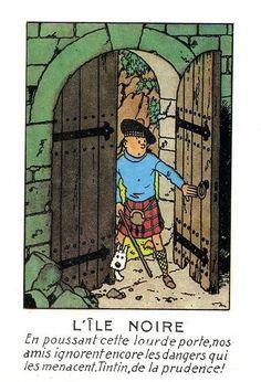 Tintin, de la prudence! - Hergé