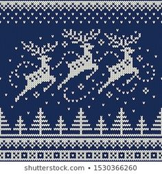 Explore high-quality, royalty-free stock images and photos by Atelier_Agonda available for purchase at Shutterstock. Xmas Cross Stitch, Cross Stitch Borders, Cross Stitch Charts, Cross Stitching, Cross Stitch Embroidery, Knitted Christmas Stockings, Christmas Knitting, Christmas Cross, Knitting Charts