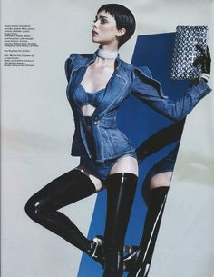 model: Simone Kerr, I Love Short Hair On Women