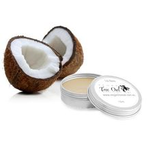 Coconut Lip Balm by Vegan Tree Owl is Gluten Free and Vegan.