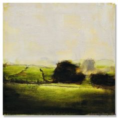 "Michael Dowling | ""All I See before Me"" I Oil, 10 x 10"""