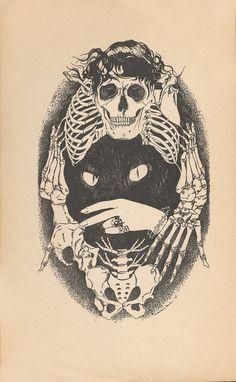 "pamelalovenyc: "" Illustration for Petrus Borel's book, ""Le Lycanthrope"" 1927 """