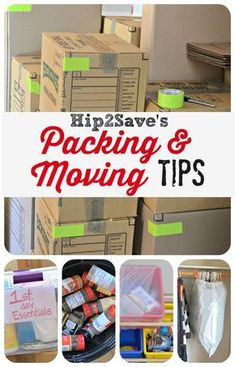 12 Packing & Moving Tips: Pack Your Home Like a Pro by Hip2Save.com. This will make your life so much easier when you move to your next place! Trust me.