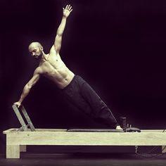 Boys do pilates too! Regram via the inspiring @pilatness #pilates #reformer #pilatesreformer #boysdopilatestoo