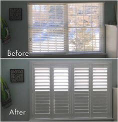 ASAP Blinds is the hidden tilt bar plantation shutter specialist on the Jersey Shore. White Wood Blinds, White Shutters, Custom Shutters, Bedroom Shutters, Interior Window Shutters, Interior Windows, Window Shutter Blinds, Decor Blinds, Homes