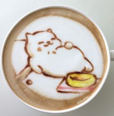 Neko Atsume Latte Art Is Almost Too Cute to Drink … #latteart
