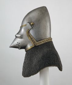 Bascinet. North Italian, late 14th century  Royal Armouries