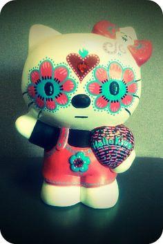 Day of the dead Hello Kitty, Dia de los Muertos