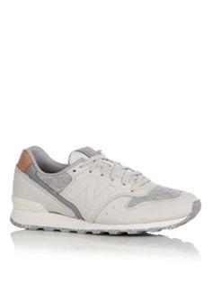 6c707e008e4 <p>Sneaker WR996 van New Balance is uitgevoerd in heerlijk zacht nubuck  leer.