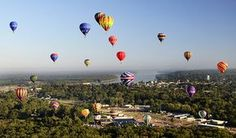 Great Mississippi River Balloon Race every third weekend in October in Natchez, MS!