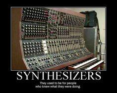#Synthesizers ... Kraftwerk style