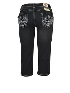 288C - BLACK JUNIOR QUALITY DENIM CAPRI JEANS Back to: Capri - junior Wholesale Price: $5.90 Package Price: $70.80  Style No.: 288C  Pre-Pack: 12 Pieces  Fabrication: 85% Cotton 12% Polyester 2% Spandex   Maker: Made in China Size Scale 1 -3 -5 -7 -9 -11 -13 -15 Size Ratio 1-1-2-2-2-2-1-1 #gazoz #gazozinc #gazozfashion