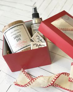 1 14oz candle 1 room spray 2 boxes of custom matches all gift wrapped and ready to give to your valentine! These limited edition boxes will be available at our pop-up shop with @batchnashville on Saturday!! #giftsforhim #giftsforher #giftguide #valentinesday #southernfireflycandle #shoplocal #shopsmall #nashville