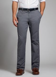 Grey Washed Chinos for Men | Bonobos