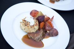 Cape Creations Catering Savannah - For the Discerning Palette Wedding Menu, Wedding Ideas, Wedding Entrees, Dessert Recipes, Desserts, Catering, Cape, Pork, Food And Drink