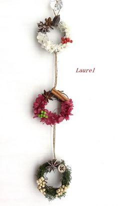 Rose Crafts, Flower Crafts, Diy And Crafts, Kids Crafts, Felt Decorations, Flower Decorations, Christmas Wreaths, Christmas Crafts, Christmas Ornaments