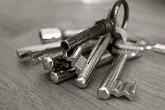 Der Schlüssel. Die Schlüssel.