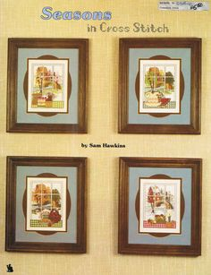 CCS  SAM HAWKINS  Seasons In Cross Stitch by BusyBeaverBoutique