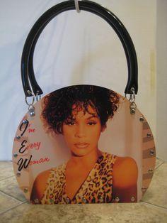 Whitney Houston I'm Every Woman Vintage Vinyl by VintageVinylRedo