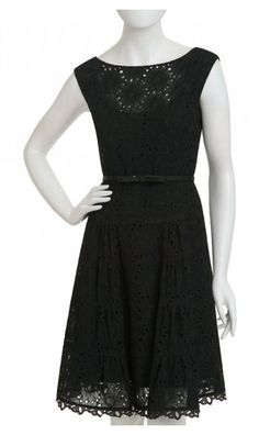 nanette lepore dress. Love the eyelets.