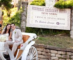 Carriage ride at the Crescent Hotel, Eureka Springs, AR