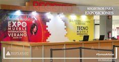 #UnRegistroDisplayArt origina presencia durante exposiciones.