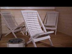 Saunasella saunatuolit, esittelyvideo - YouTube