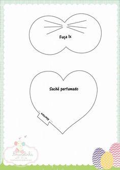 Eu Amo Artesanato: Coelho com molde Turning, Bunny, Toys, Felt Decorations, Easter Crafts, Rabbits, Creative Crafts, Costumes, Felting