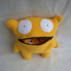 Cute Monster Purse - MADE TO ORDER. via Etsy.