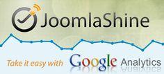 how to add google analytics to joomlashine